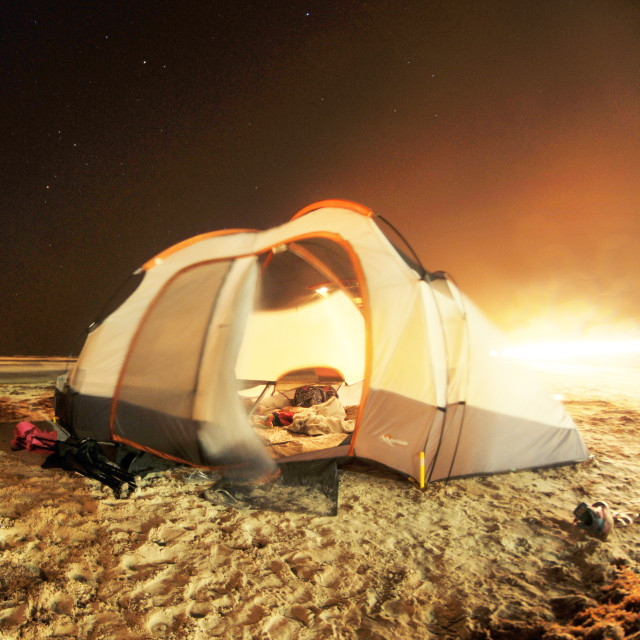 Free authentic camping tent photo on Reshot