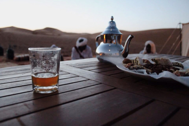 Morocco. Tea time.