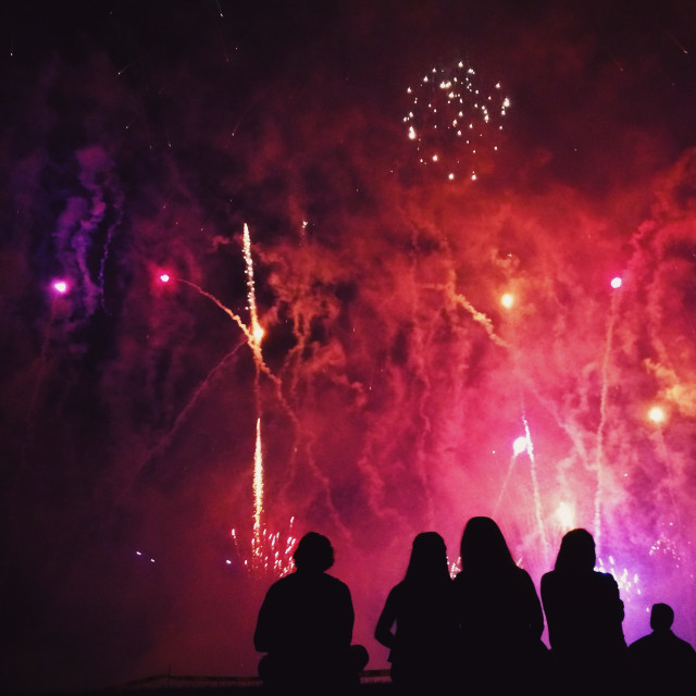 Free authentic fireworks photo on Reshot