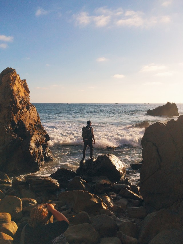 Free authentic rocky beach photo on Reshot