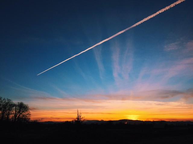 Con Trail Sunset