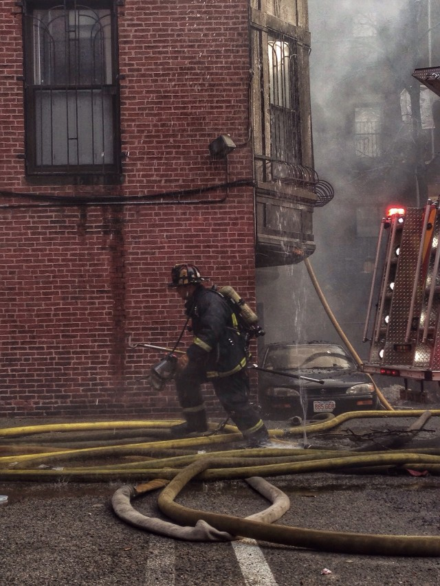Fire in Boston last year not too far from my old place. Happy to have these guys around.