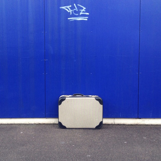 Free authentic suitcase photo on Reshot