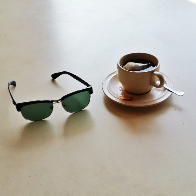 Free authentic cup and saucer photo on Reshot