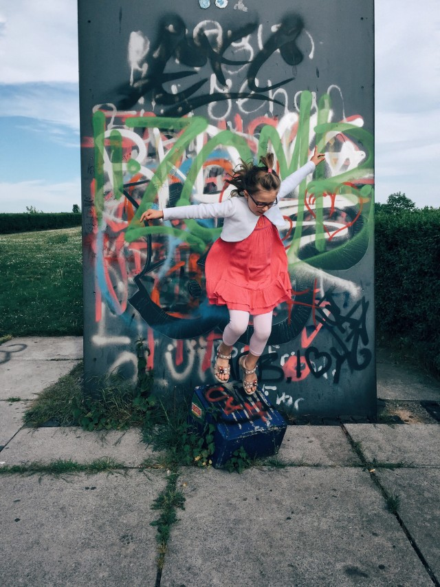 Free authentic girl jumping photo on Reshot