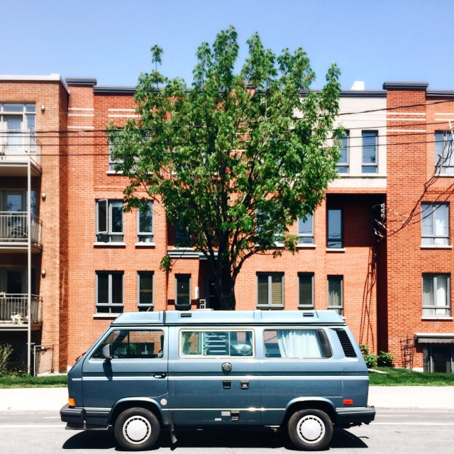 My friend's parents recently sold their house, and decided to buy a westfalia instead to travel for the next few months. I envy the courage of people like this, to be able to relieve themselves of what holds them in one place and pursue such a dream