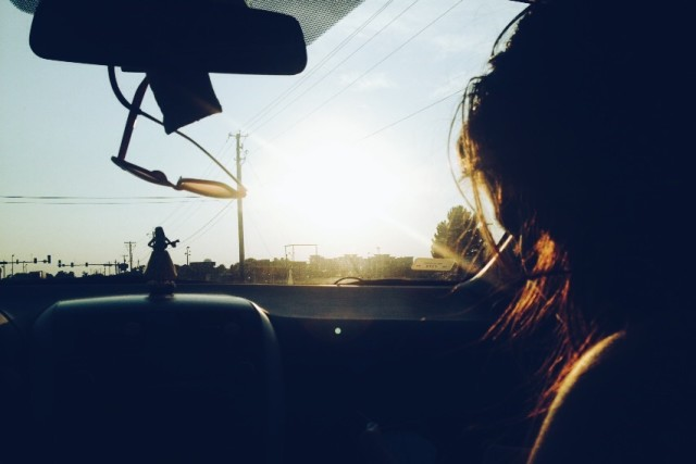 Road trip and sunsets