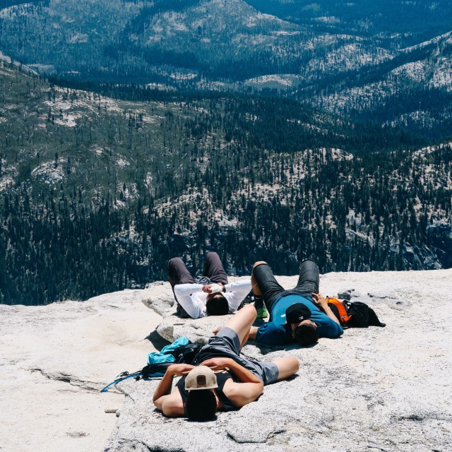 Half dome napping