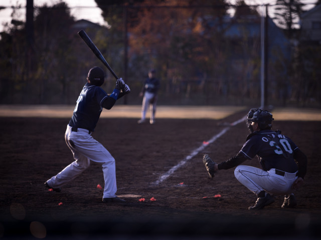 Free authentic baseball photo on Reshot