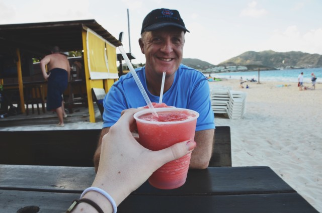 St. Martin with Dad