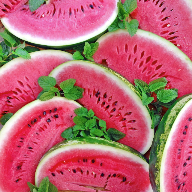 Summertime Watermelons