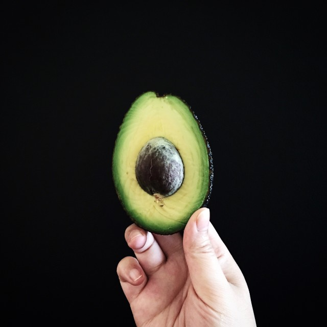 Avocado in its purest form. (Bet you didn't know it was a fruit!)