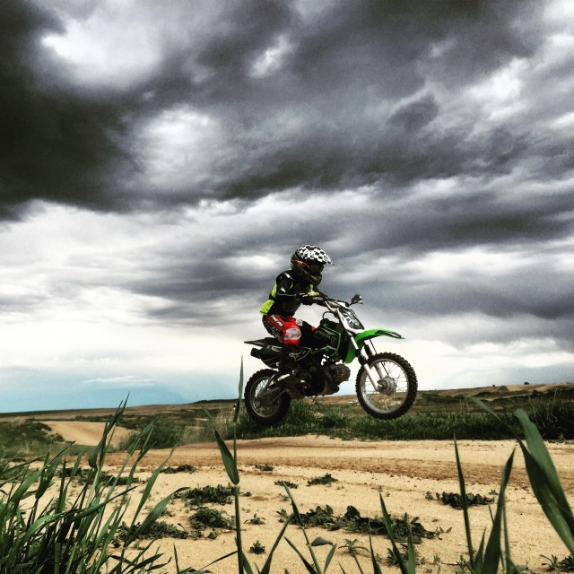 Free authentic motorcycle photo on Reshot