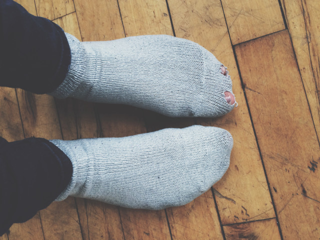 Free authentic socks photo on Reshot