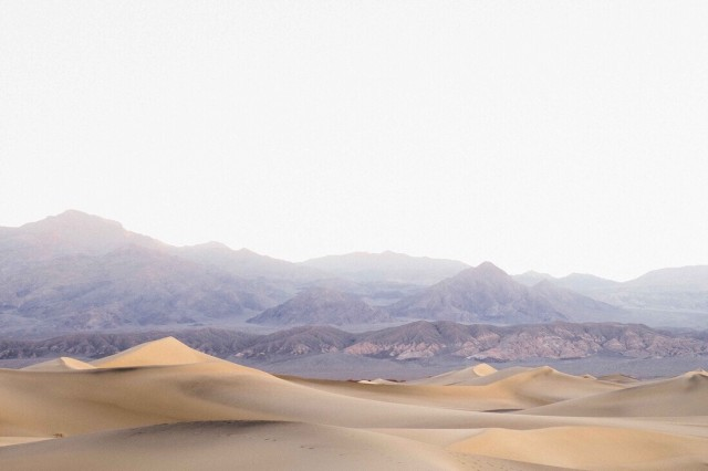 Death Valley at sunrise
