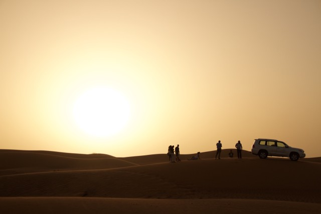 Desert Safari Dubai, captured using a Canon.