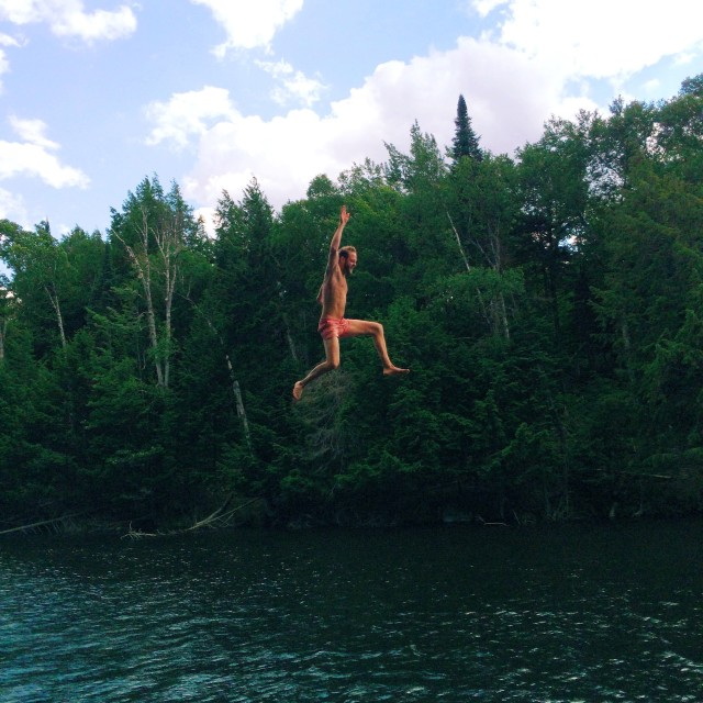 Rope Swing Dunk