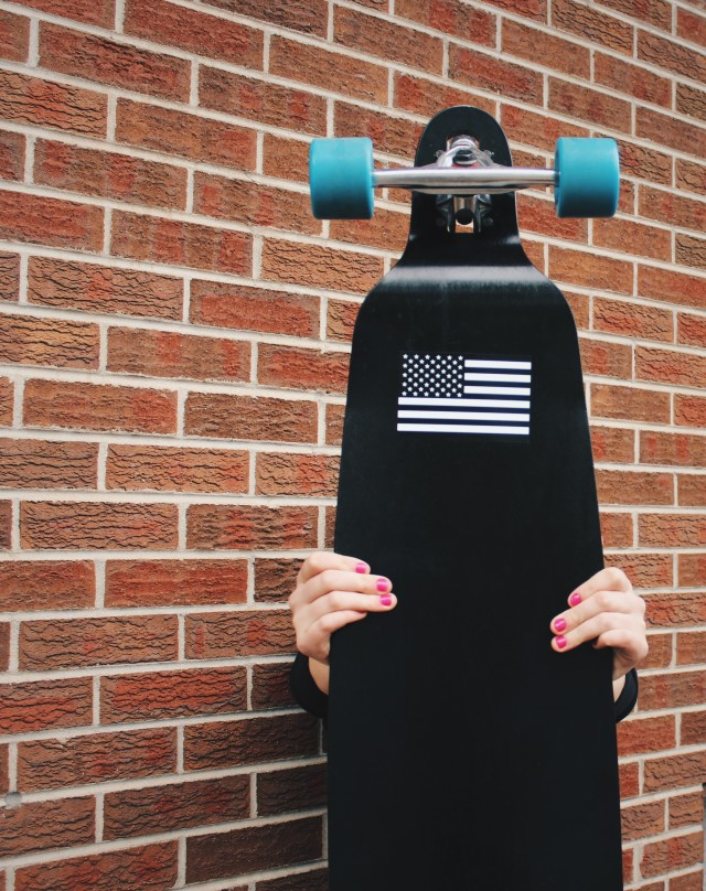 Free authentic longboard photo on Reshot