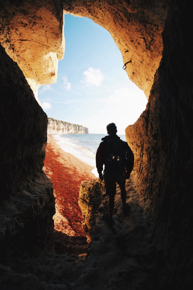 Free authentic cave photo on Reshot
