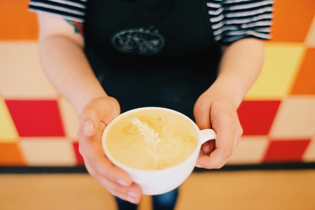 A nice coffee time is what Monday's call for.