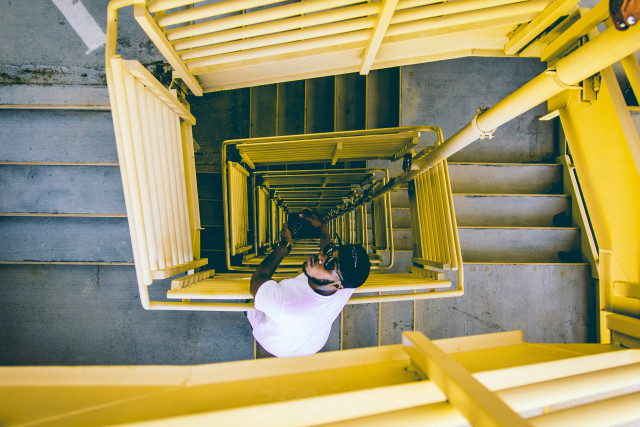 Free authentic staircase photo on Reshot