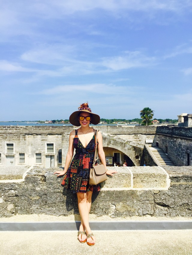 The Fort in St Augustine was very beautiful