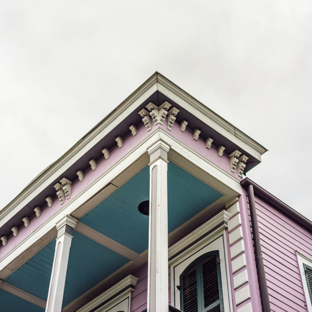 Free authentic pink house photo on Reshot