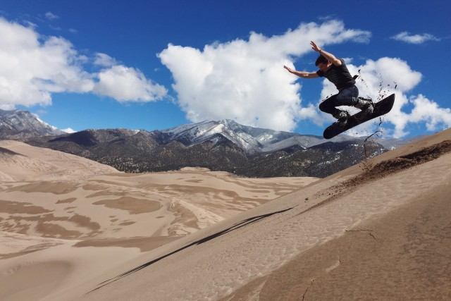Great Sand Dunes, Colorado.