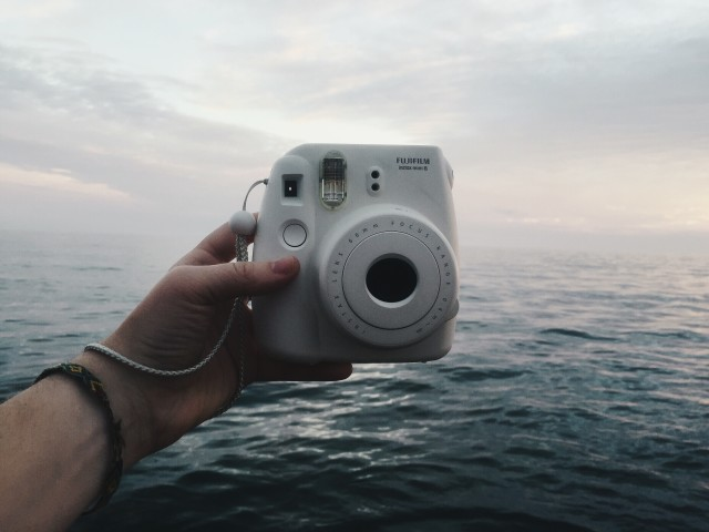 Free authentic instax photo on Reshot