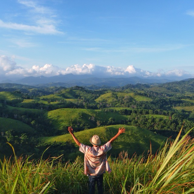 A great hill from South Borneo