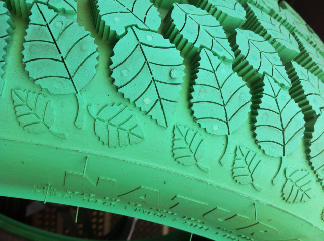Revolutionary ecological green tire : the future is on the way