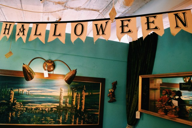 Halloween @ My Favorite Vintage Shop