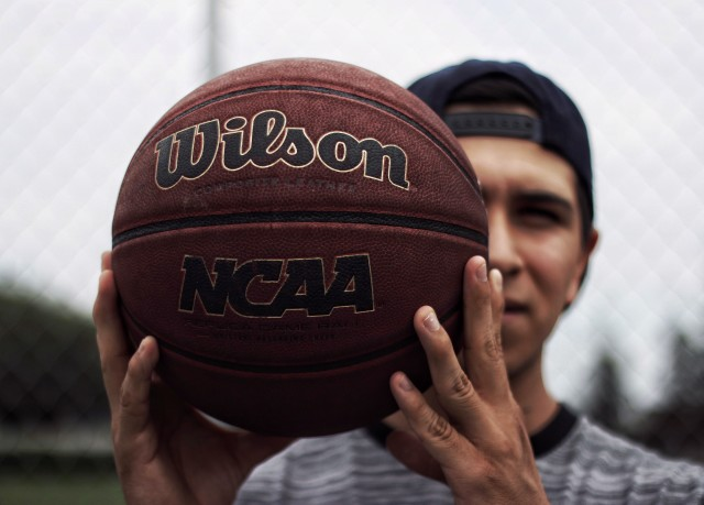 Basketball portrait