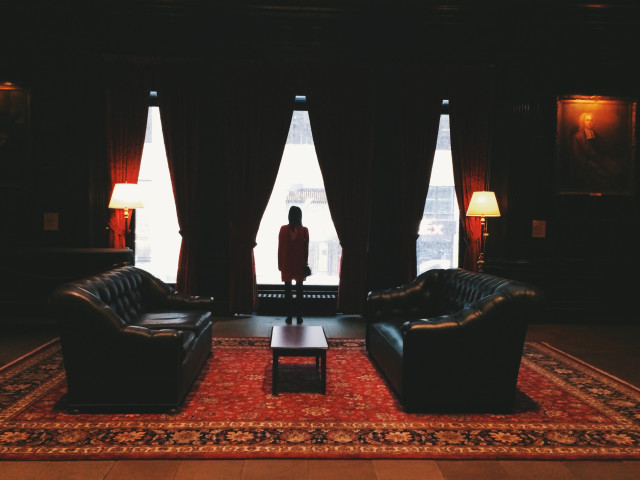 Inside the Harvard Club
