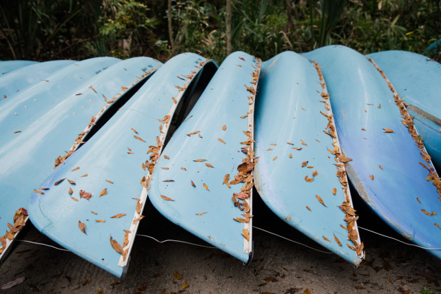 Blue Canoes