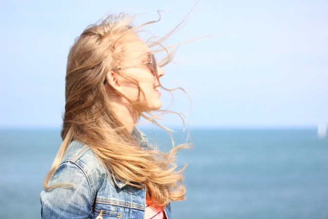 Free authentic windy hair photo on Reshot