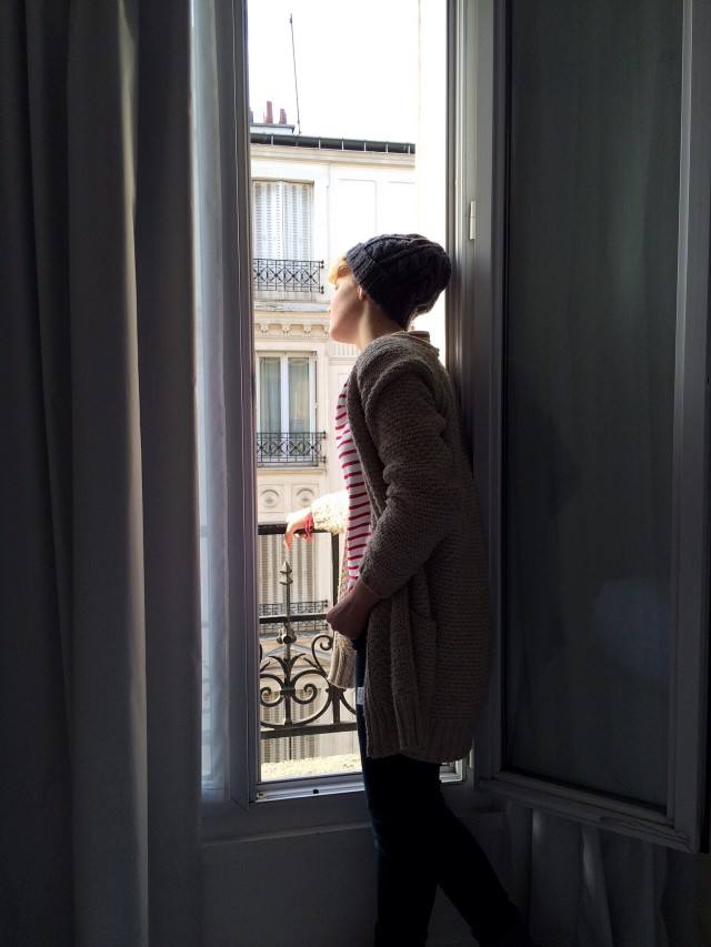 The power & beauty of vulnerability, my girl in Paris!