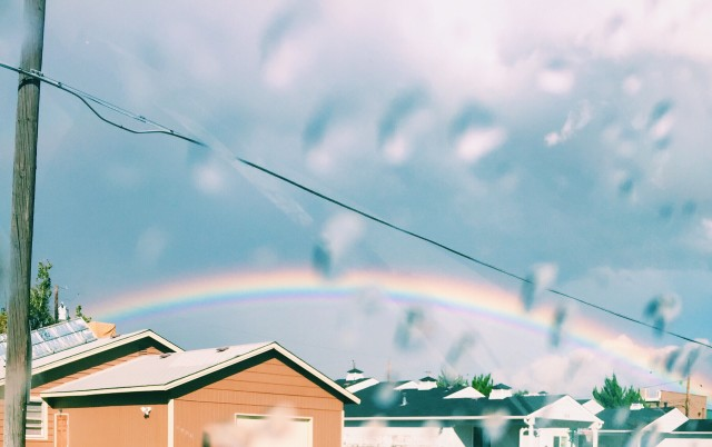 Free authentic rainbow photo on Reshot