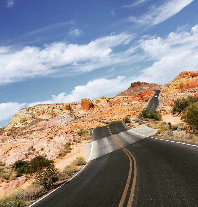 Open Roads @ Valley Of Fire, NV.