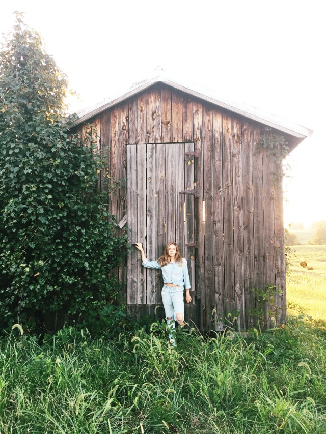 Girl & A Shed