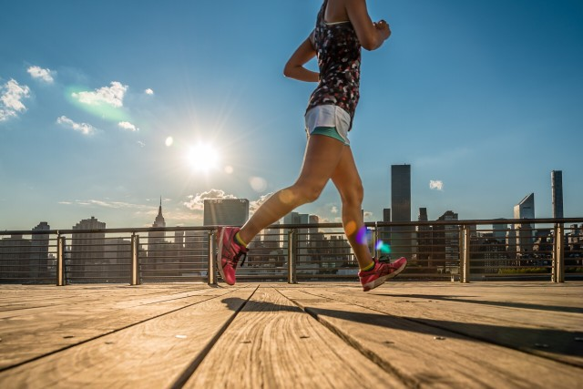 Free authentic runner photo on Reshot