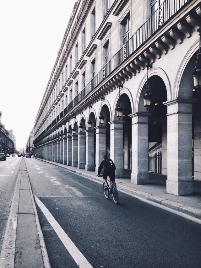 Free authentic riding bicycle photo on Reshot