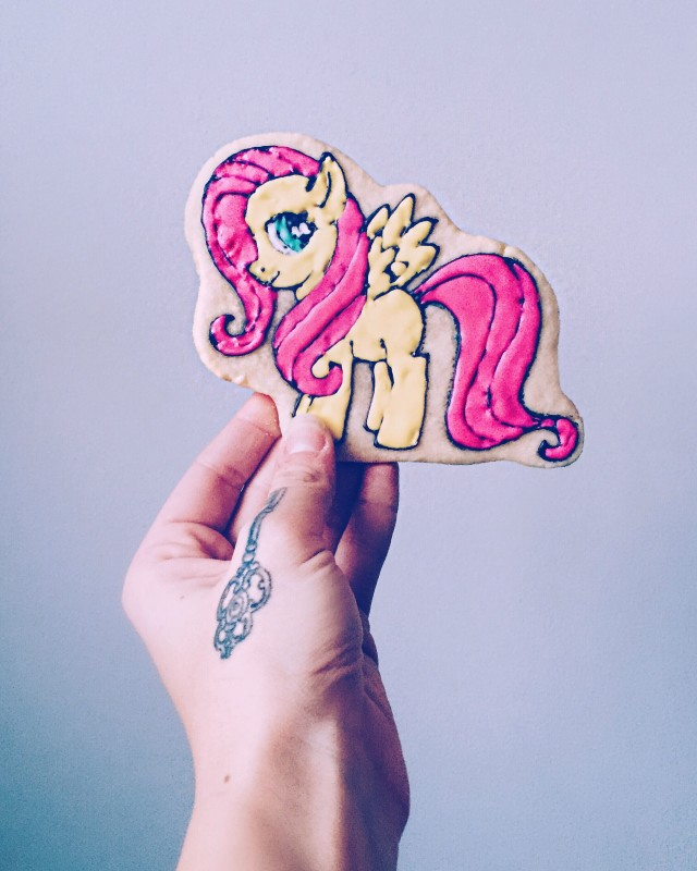My Little Pony cookie.