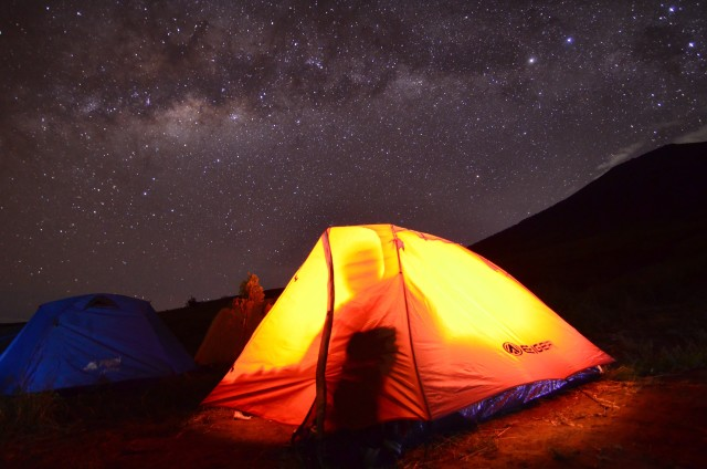 Milkyway at Rinjani Mountain