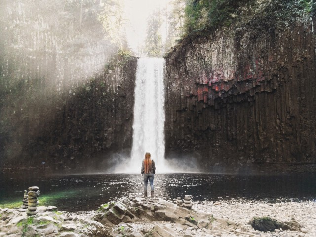 Abiqua Falls : Oregon