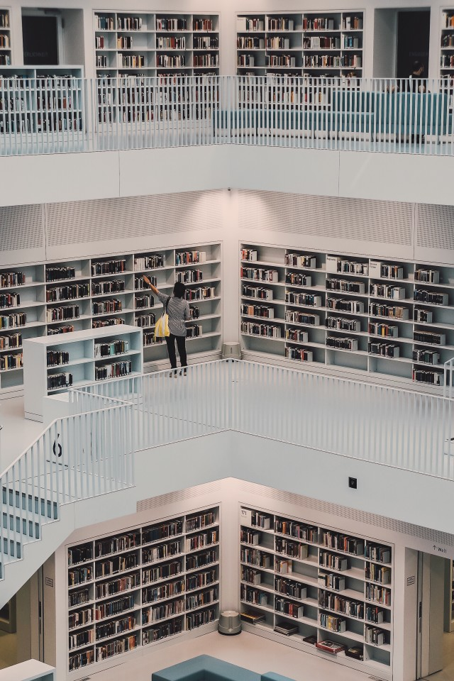 That library again😍 stuttgart stadtbibliothek