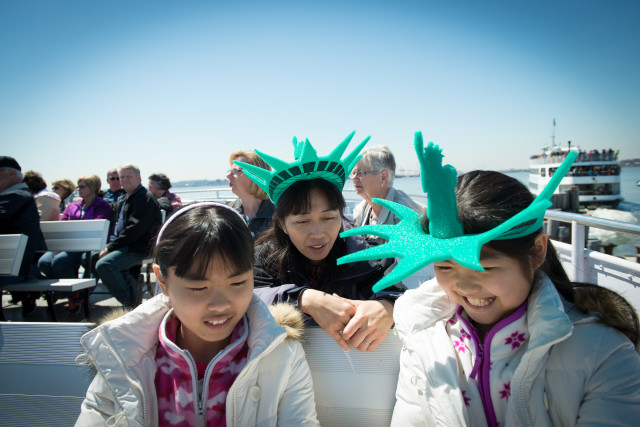Family Outing to Statue of Liberty National Monument