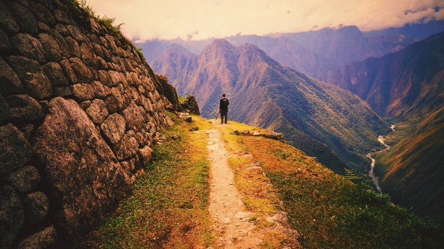 Day 3 of the Inca Trail hike to Machu Picchu in Peru