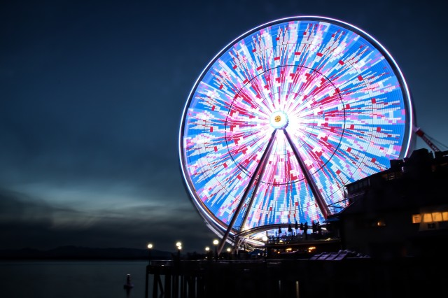Great Wheel in Seattle