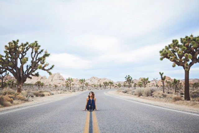 Wander on the open road